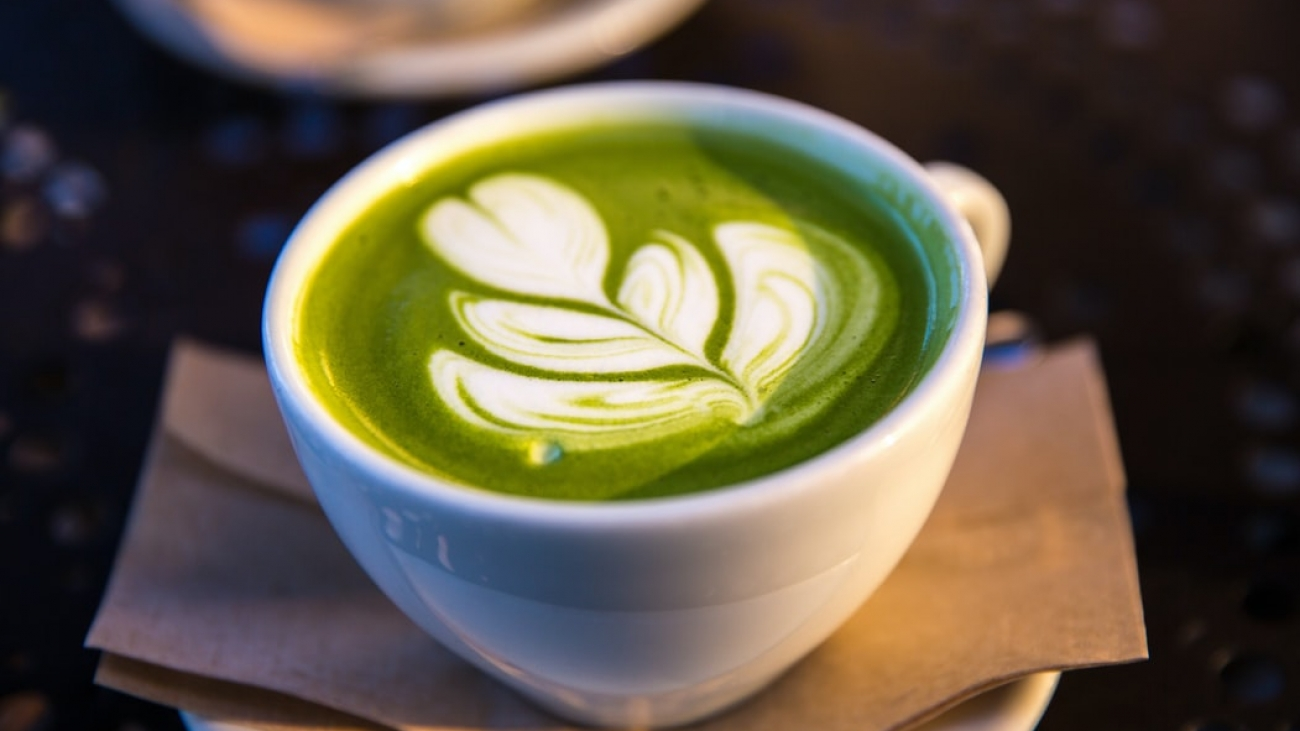 3. Green Tea Latte